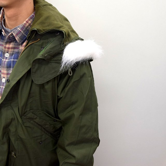 DEAD STOCK(デッドストック)/ US ARMY FISHTAIL PARKA -OLIVE- (7)