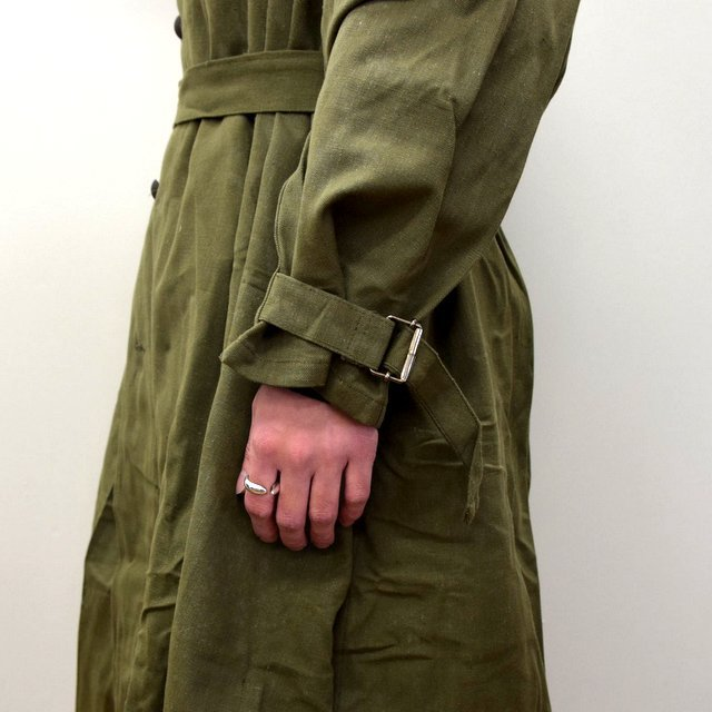 DEAD STOCK(デッドストック)/ FRENCH ARMY MOTORCYCLE COAT -OLIVE- #MILITARY300(7)