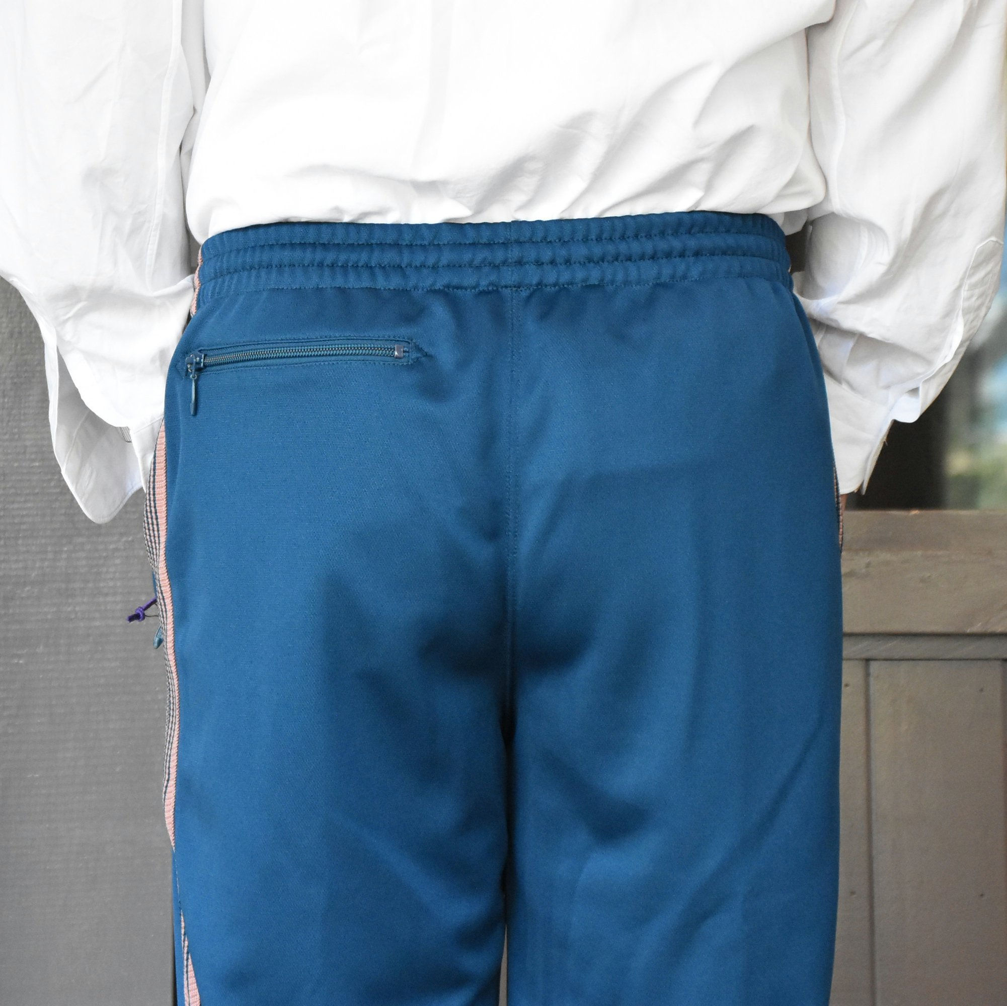 [2021]NEEDLES(ニードルス) TRACK PANT POLY SMOOTH -TEAL GREEN- #IN181(7)