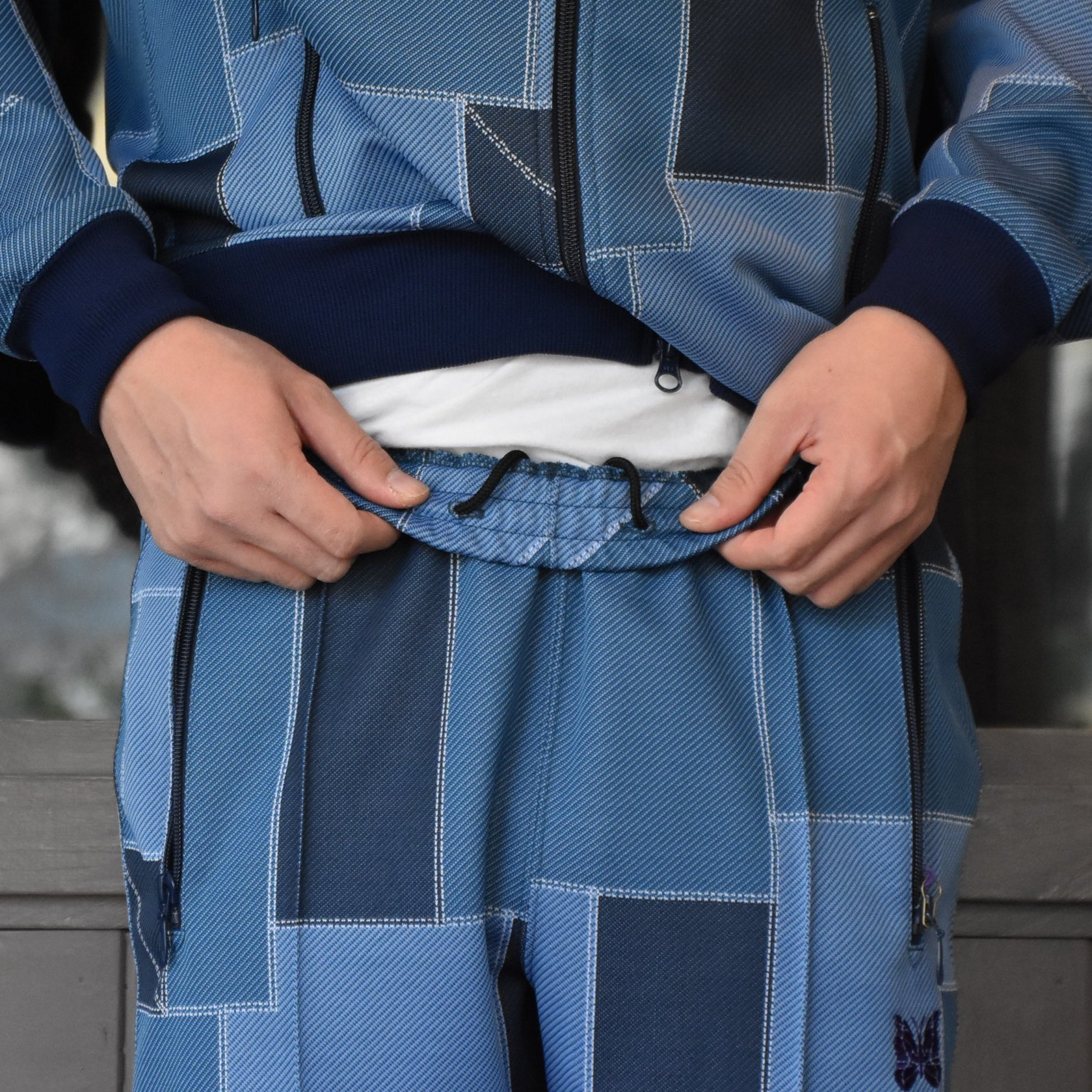 [2021]NEEDLES(ニードルス) TRACK PANT POLY JQ.-PATCHWORK- #IN198(7)