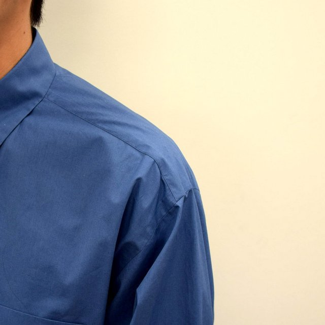MARKAWARE(マーカウェア)/ COMFORT FIT SHIRT -CYAN BLUE- #A21A-07SH01C(7)