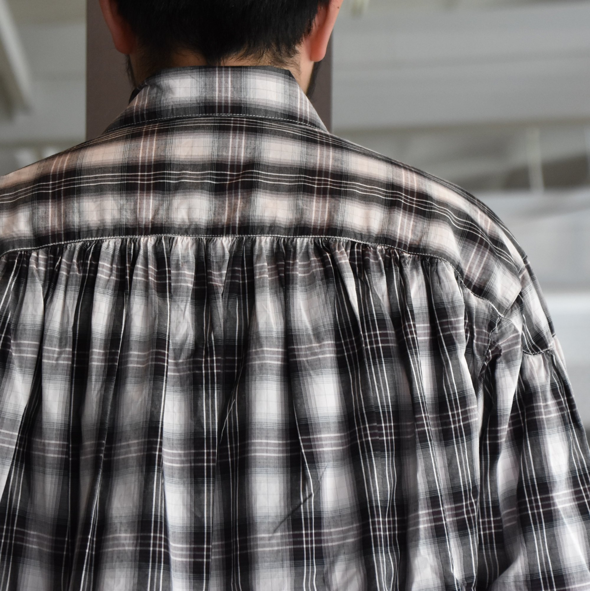 [2021] AiE(エーアイイー)/PAINTER SHIRT-SHADOW PLAID- #IN530(7)