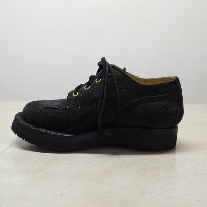 GRIZZLY BOOTS(グリズリー ブーツ) Lineman Oxford -BLACK ROUGH OUT-【別注】(8)