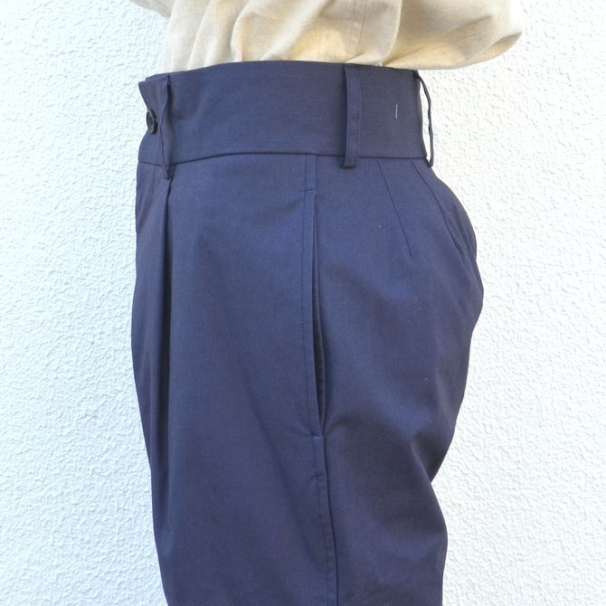 【40% off sale】S.E.H KELLY(エス・イー・エイチ・ケリー)/ NORTHERN IRISH SHOWER-PROOF COTTON STANDARD PANT -(39)NAVY- #5113036(8)