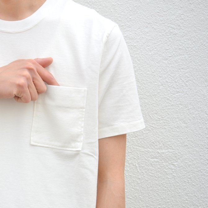 【17 SS】Curly(カーリー) BRIGHT SS POCKET TEE -2色展開- #172-04041(8)