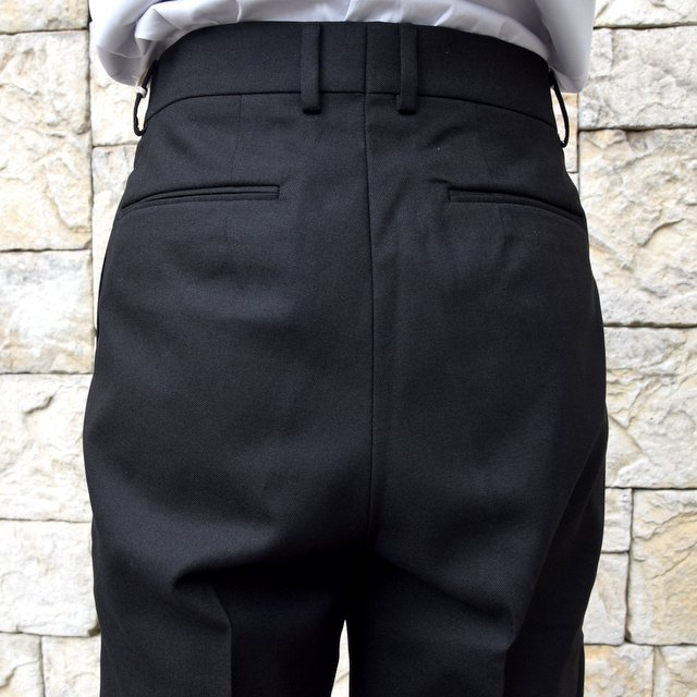 【2020 SS】NEAT(ニート)/ HOPSACK ''TAPERED'' -BLACK- #20-01HST-BK(8)