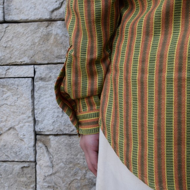【2020 SS】FRANK LEDER(フランクリーダー) / COTTON SHIRT -YELLOW- #0836008(8)