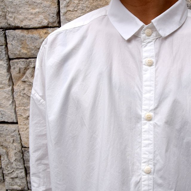 【2020】 toogood(トゥーグッド)/ THE DRAUGHTSMAN SHIRT POPLIN -CHALK- (8)