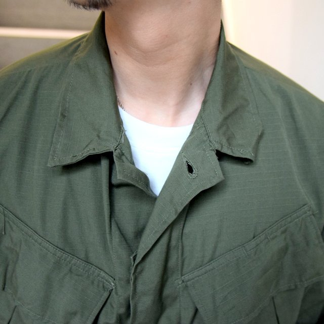 DEAD STOCK(デッドストック)/ 60s US ARMY ''JUNGLE FATIGUE JACKET'' 4th -OLIVE- #MILITARY265(8)