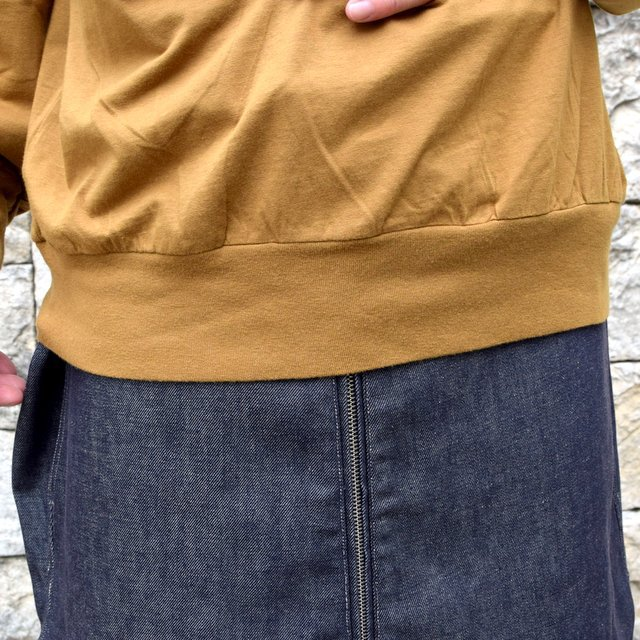 【2020】blurhms ROOTSTOCK(ブラームス) / SILK COTTON JERSEY L/S LOOSE FIT -CAMEL- #ROOTS-F206(8)