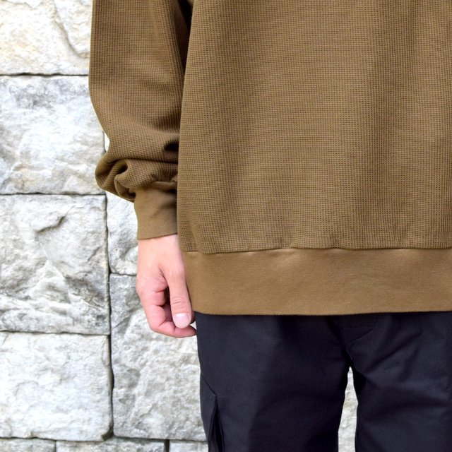 blurhms ROOTSTOCK(ブラームス) / Rough & Smooth Thermal -KHAKI BROWN-(8)