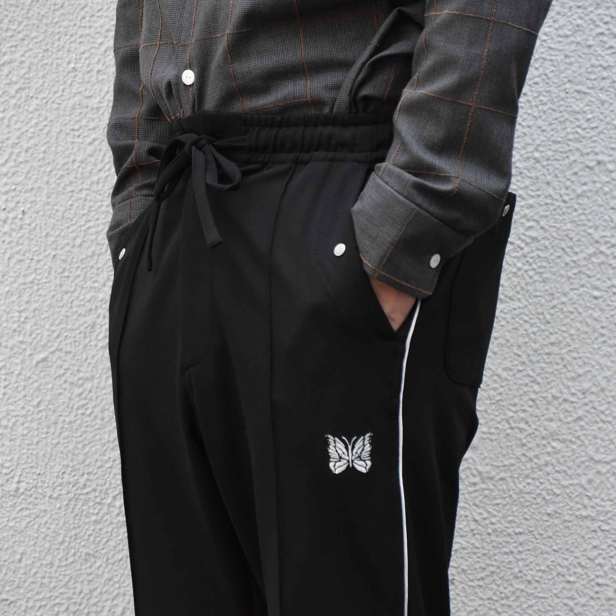 【2020】NEEDLES(ニードルス) Piping cowboy pants -BLACK- #HM-135(8)