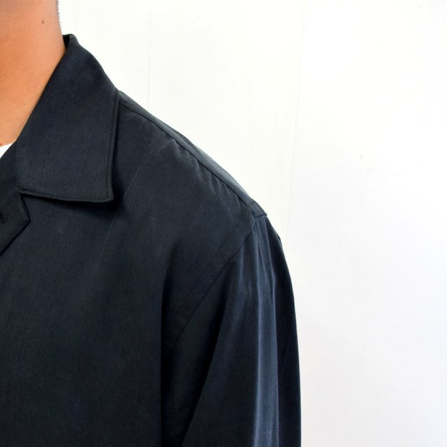 【2020】YOKE(ヨーク)/ BIG FLAP LONG SHIRTS -BLACK- #YK20AW0144SH(8)