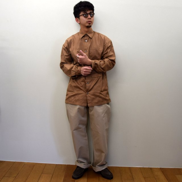 E. TAUTZ(イートウツ)/ FIELD TROUSER-BEIGE-  6311702009-BE(8)