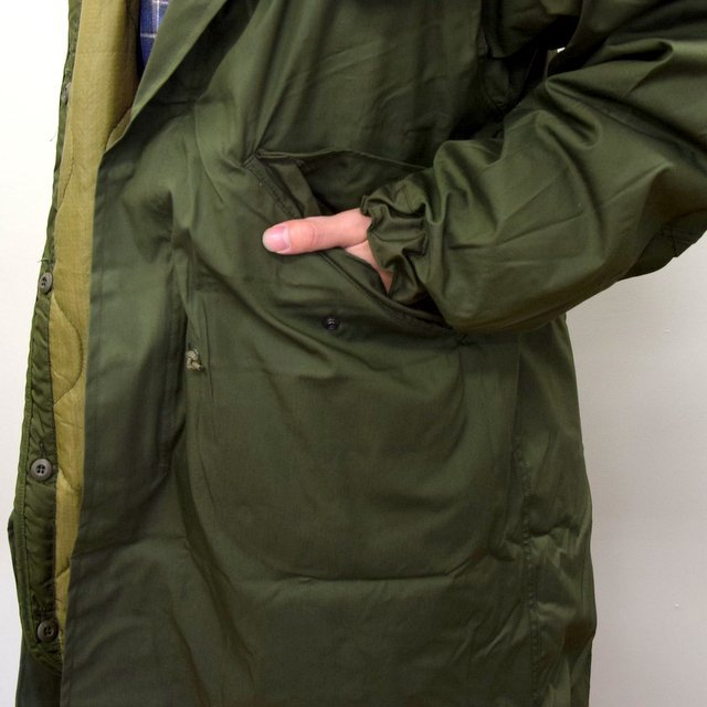 DEAD STOCK(デッドストック)/ US ARMY FISHTAIL PARKA -OLIVE- (8)
