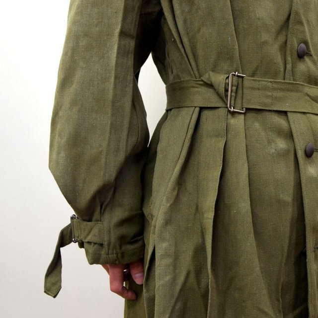 DEAD STOCK(デッドストック)/ FRENCH ARMY MOTORCYCLE COAT -OLIVE- #MILITARY300(8)
