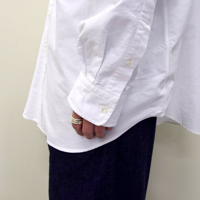 Graphpaper (グラフペーパー)/ OXFORD OVERSIZED B.D SHIRT -2色展開- #GM211-50113B(8)