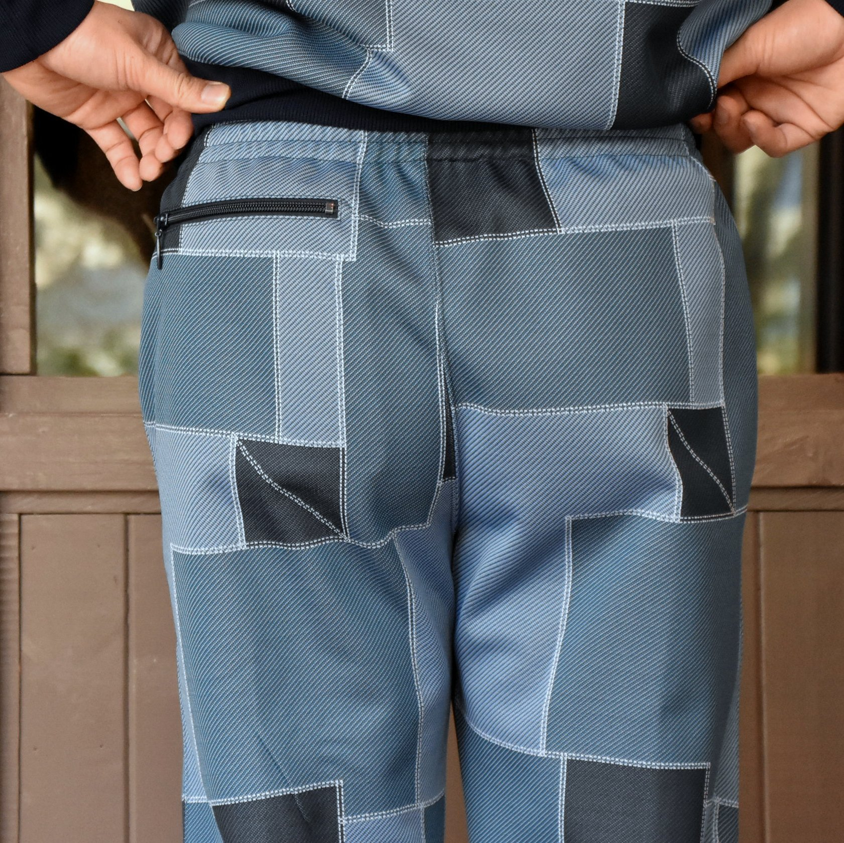 [2021]NEEDLES(ニードルス) TRACK PANT POLY JQ.-PATCHWORK- #IN198(8)