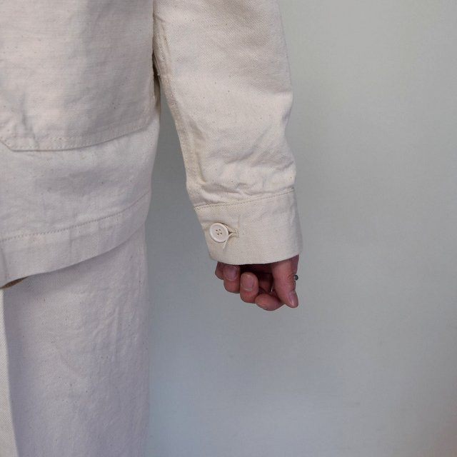 MARKAWARE(マーカウェア)/ WORK JACKET -WHITE- #A21A02BL01C(8)