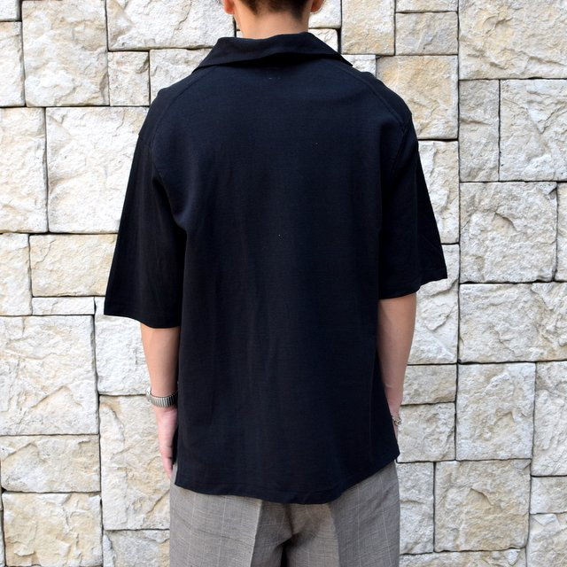 【30% off sale 】KAPTAIN SUNSHINE (キャプテンサンシャイン)/ SKIPPER SHIRT  -BLACK-#KS9SCS09(9)
