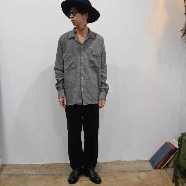 【30% OFF】 MOJITO(モヒート)/ ABSHINTH SHIRT Bar.2.0 -(09)HOUNDS TOOTH- #2094-1101(9)
