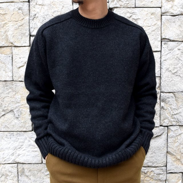 BATONER(バトナ—)/ HEAVY WEIGHT CASHMERE CREW NECK BN-19FL-044(9)
