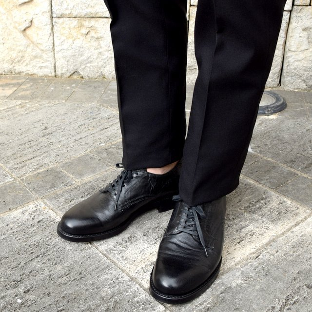 【2020 SS】NEAT(ニート)/ HOPSACK ''TAPERED'' -BLACK- #20-01HST-BK(9)