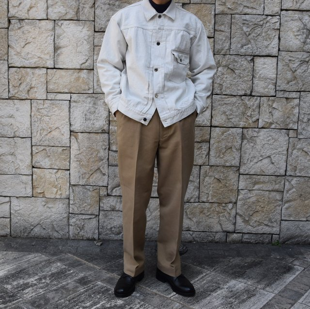 【2020 SS】KAPTAIN SUNSHINE / Wide Chino Trousers KS20SPT07(9)