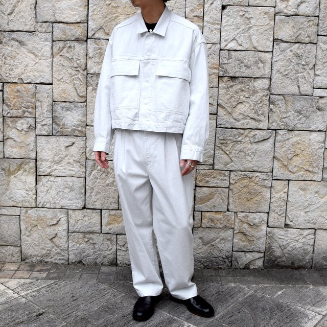 【2020 SS】YOKE(ヨーク)/ 2TUCK WIDE TROUSERS -2色展開- #YK20SS0105P(9)