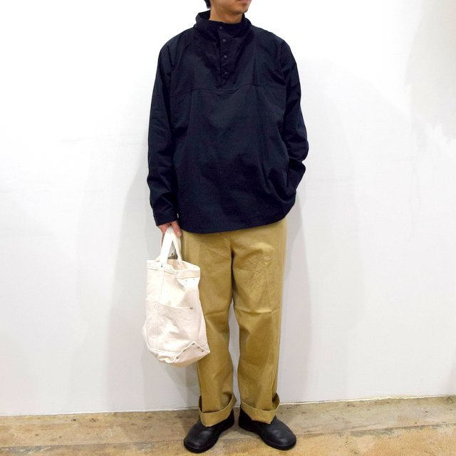 【2020】YAECA (ヤエカ)/ CHINO CLOTH PANTS CREASED -KHAKI- #10605(9)