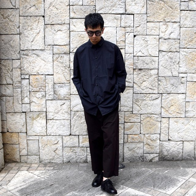 【2020】 toogood(トゥーグッド)/ THE DRAUGHTSMAN SHIRT POPLIN -FLINT- (9)