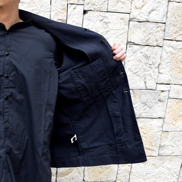 【2020 SS】 toogood(トゥーグッド)/ THE PHOTOGRAPHER JACKET CANVAS -FLINT-(9)