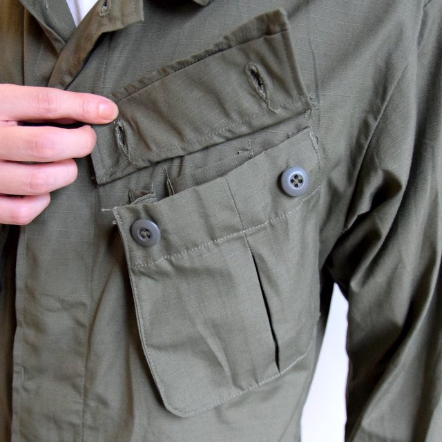 DEAD STOCK(デッドストック)/ 60s US ARMY ''JUNGLE FATIGUE JACKET'' 4th -OLIVE- #MILITARY265(9)