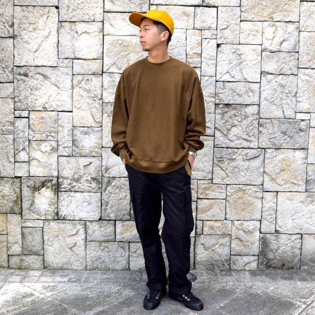 blurhms ROOTSTOCK(ブラームス) / Rough & Smooth Thermal -KHAKI BROWN-(9)