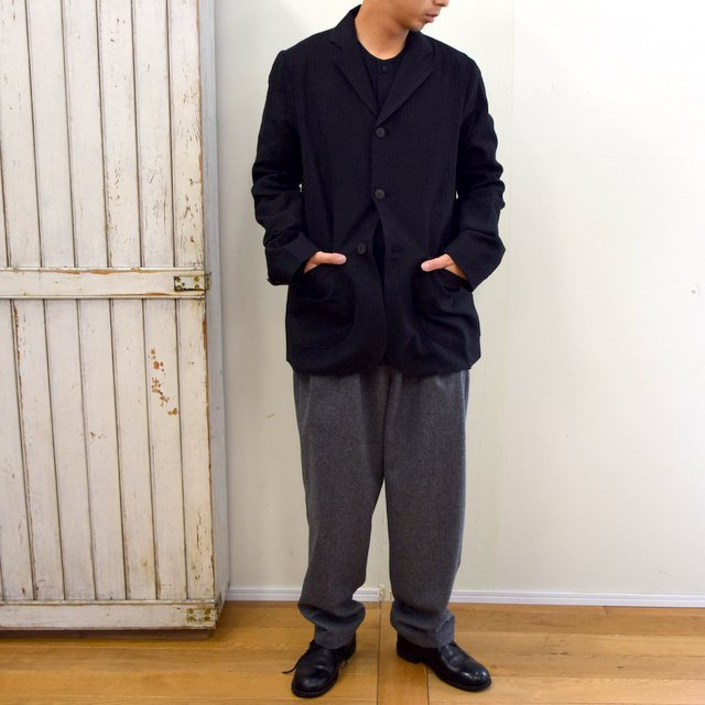 toogood(トゥーグッド)/ THE METAL WORKER JACKET WOOL HERRINGBON -FLINT- #62011100E(9)
