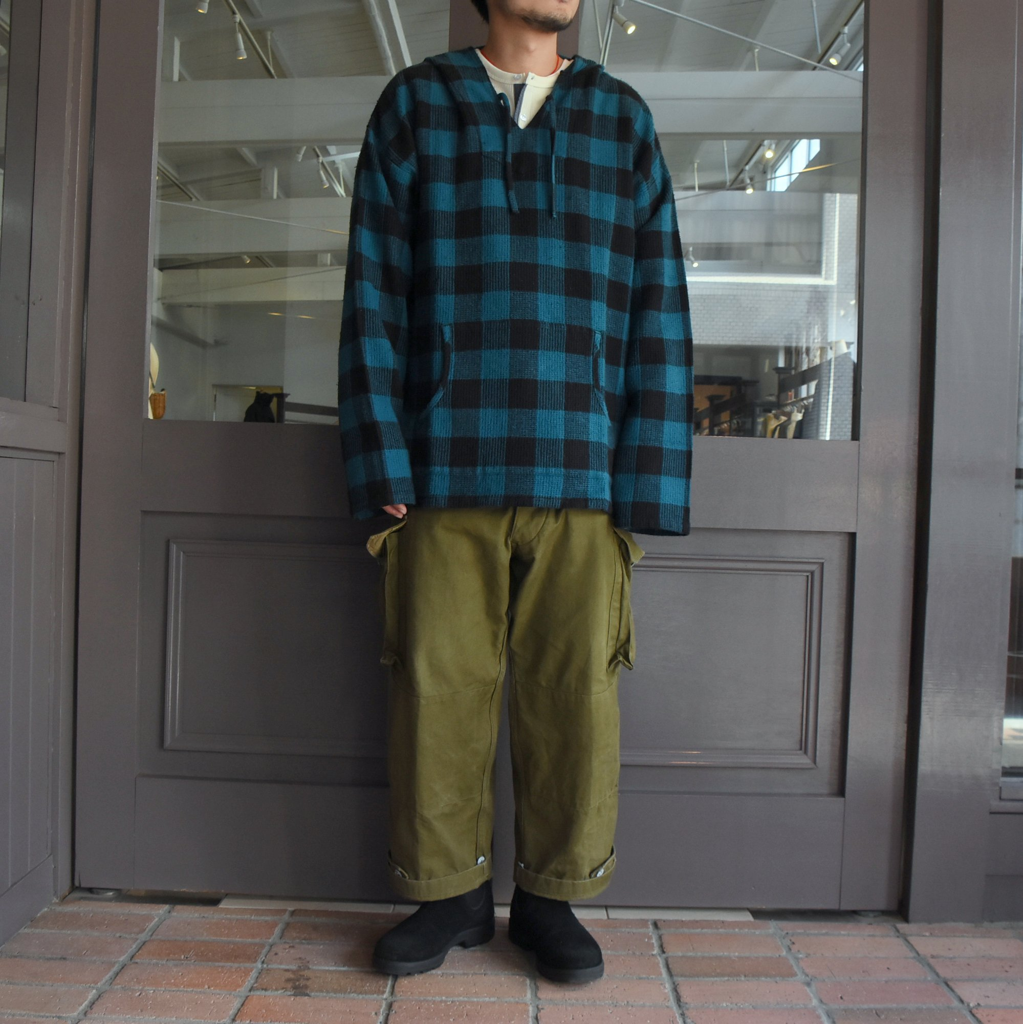 South2 West8(サウスツーウエストエイト) Mexican Parka-Buffaro Plaid- #HM871(9)