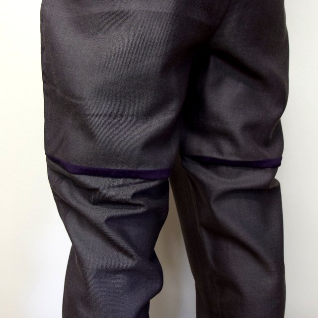 HOMELESS TAILOR(ホームレステイラー)/ HIP GUSSET PANTS -BROWN- #HTK-20F-010(9)
