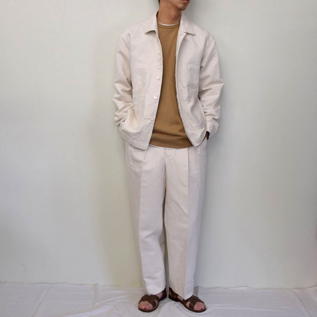 MARKAWARE(マーカウェア)/ WORK JACKET -WHITE- #A21A02BL01C(9)