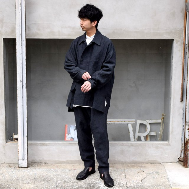toogood(トゥーグッド) / THE STONEMASON TROUSER -CHARCOAL-(9)