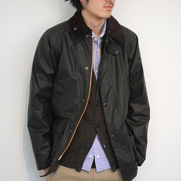 Barbour(バブアー) BEDALE SL(ビデイル SL) -SAGE-