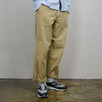 MASTER&Co.(マスターアンドコー) CHINO PANTS with BELT -(82)BEIGE-【Z】