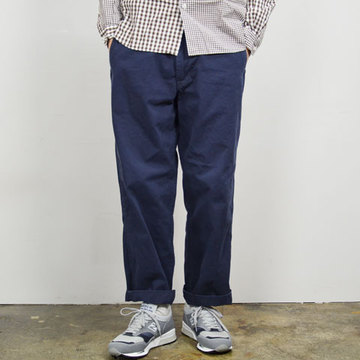 MASTER&Co.(マスターアンドコー) CHINO PANTS with BELT -(39)NAVY-【Z】