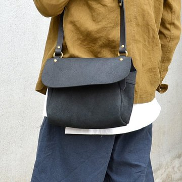 STYLE CRAFT (スタイルクラフト) OIL SUEDE SHOULDER -BLACK-