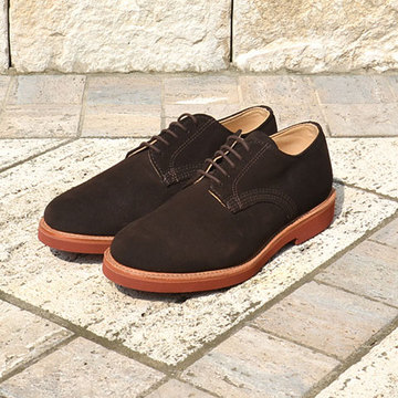 WALK-OVER (ウォークオーバー) DERBY -CHOCOLATE SUEDE-