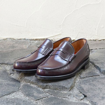 REGAL Shoe&Co.(リーガル シューアンドカンパニー) Genuine Moccasin Coin Loafer -D.BROWN-