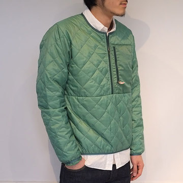 【40% off sale】 BATTENWEAR(バテンウェア) Quilted Travel Sweater -green-