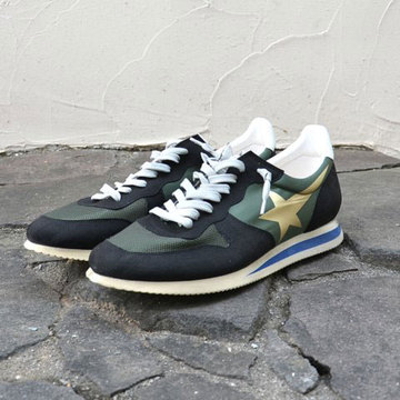 【40% off sale】GOLDEN GOOSE (ゴールデングース) SNEAKER HAUS -(A4)MILITARY- 【Z】