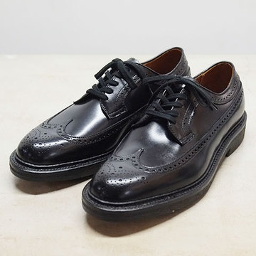 Alden(オールデン) LONG WING TIP(CALF LEATHER) -BLACK- 【別注】  #97531