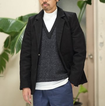 FRANK LEDER(フランクリーダー) DEUTSCHELEDER JACKET -BLACK-  #0723085