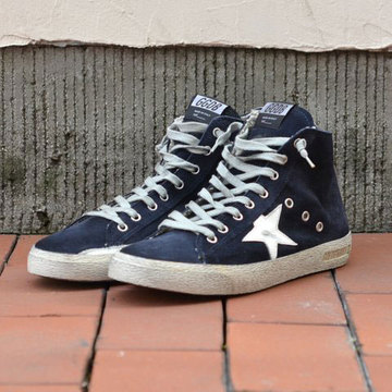 GOLDEN GOOSE (ゴールデングース) SNEAKERS FRANCY -(N2)NAVY SUEDE-